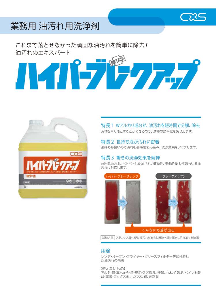 油汚れ用洗剤 ハイパーブレークアップ